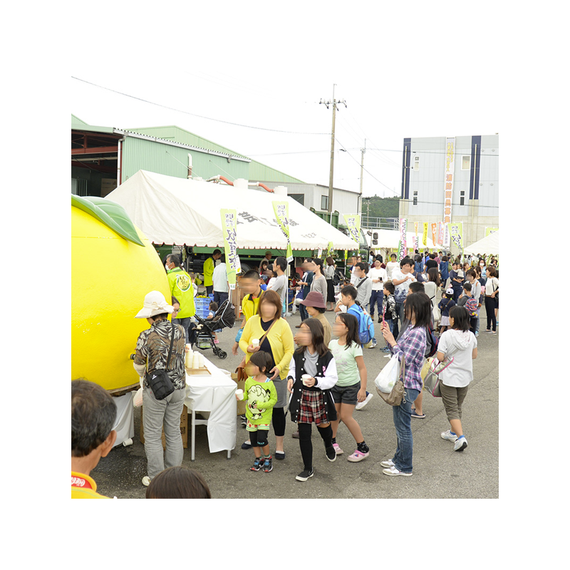 柚子の魅力を伝えるイベント「早摘みゆず収穫祭」運営